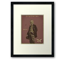 Whitman Framed Print
