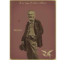 Whitman Photographic Print