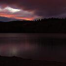Late Sunset on Lake Schwatka by Yukondick