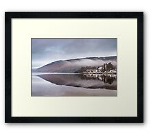 Kenmore reflection, Perthshire, Scotland Framed Print
