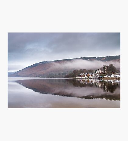 Kenmore reflection, Perthshire, Scotland Photographic Print