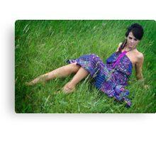 Fashion Shoot Canvas Print