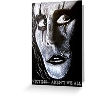The Crow movie Fan Art - Real Love Is Forever  Greeting Card