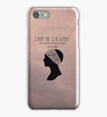 Beautiful Little Fool iPhone Case/Skin