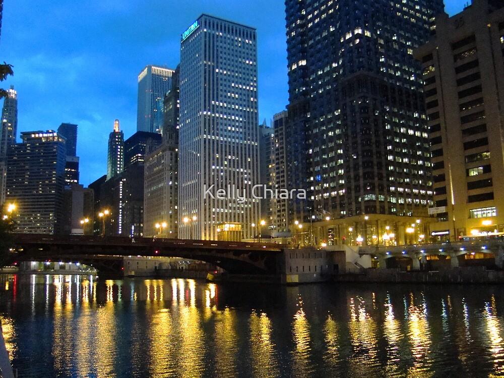 Dearborn Street Bridge at Night by Kelly Chiara