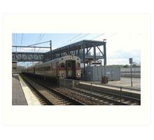 1522 MBTA Commuter Rail Art Print