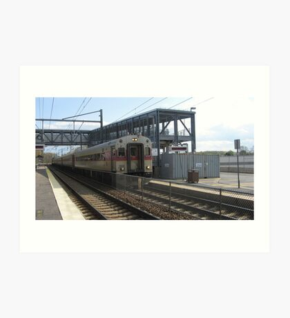 1522 MBTA Commuter Rail Art Print