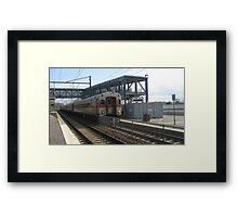 1522 MBTA Commuter Rail Framed Print
