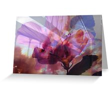 Timeless beauty collage Greeting Card