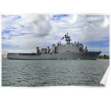 USS Germantown LSD 42 Poster