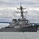 USS Decatur DDG 73 Destroyer by Bob Hortman