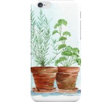 Rosemary and Parsley iPhone Case/Skin