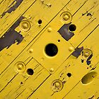 Yellow Spool by James  Birkbeck Abstracts