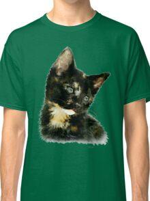 Susie: Black and tan Kitten Classic T-Shirt