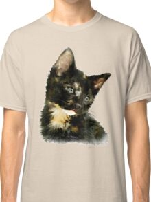 Susie: Black and tan Kitten Classic T-Shirt
