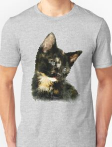 Susie: Black and tan Kitten Unisex T-Shirt