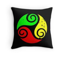 Reggae Flag Chilling Vibes - Cool Reggae Flag Colors Gifts Throw Pillow