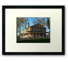 Samuel Richards' Manor Framed Print