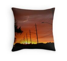 Painter of the sky Throw Pillow