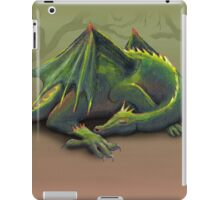 Sleeping green dragon iPad Case/Skin