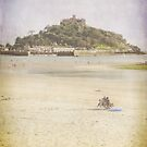 A View of St Michaels Mount by Lissywitch