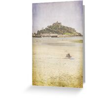 A View of St Michaels Mount Greeting Card