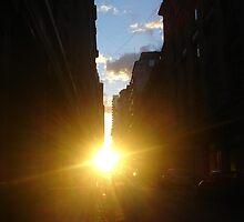 framing the sun by Lia Contrucci
