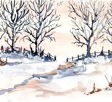 The joy of snow by Maree  Clarkson