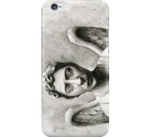 Weeping Angel - Don't Blink! iPhone Case/Skin