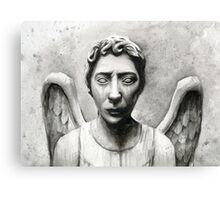 Weeping Angel - Don't Blink! Canvas Print