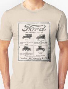 Ford - The universal Car- advert. T-Shirt