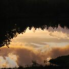 Reflections of Sunset Clouds by barnsis