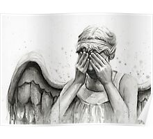 Doctor Who Weeping Angel - Don't Blink! Poster