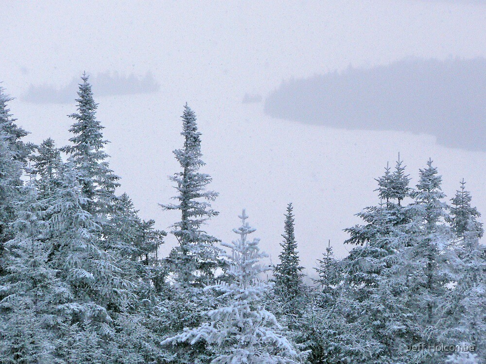 Snowstorm on Bald Mountain by Jeff Holcombe
