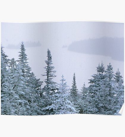 Snowstorm on Bald Mountain Poster