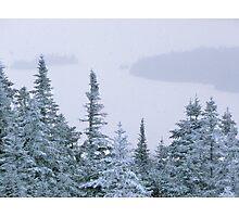 Snowstorm on Bald Mountain Photographic Print