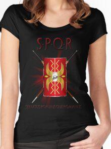 SPQR Women's Fitted Scoop T-Shirt