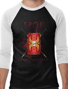 SPQR Men's Baseball ¾ T-Shirt
