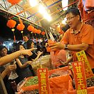 Chinese New Year Market Stall  by Nupur Nag