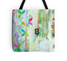 Prosperity inspirational art print Tote Bag