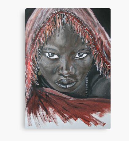 Dark Beauty Canvas Print