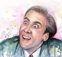 Nicolas Cage Meme You Don't Say by OlechkaDesign
