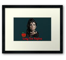 Long live Regina Framed Print