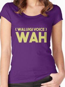 WAAAAAAAAAAAAAAH Women's Fitted Scoop T-Shirt