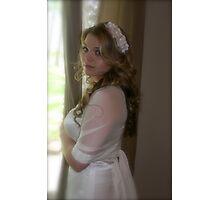 olivia the bride Photographic Print