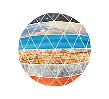 Eco Geodesic  Photographic Print