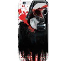 Dark Gas Mask Nun iPhone Case/Skin