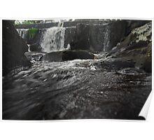 Port Albert Water Falls Poster