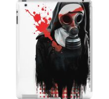 Dark Gas Mask Nun iPad Case/Skin