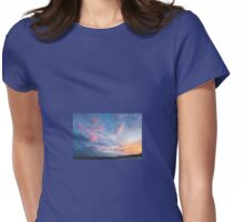 Sunset Special down at Llantwit Major Beach, Wales. Uk Womens Fitted T-Shirt